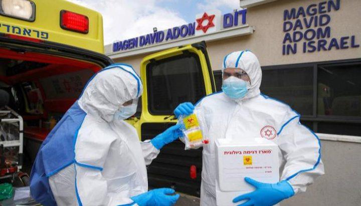 395 إصابة جديدة بفيروس كورونا في دولة الاحتلال