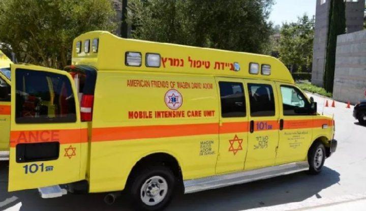 الناصرة: إصابة شخص في انقلاب سيارة