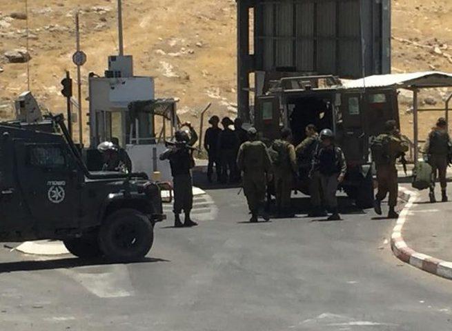 قوات الاحتلال تعتقل أسيرا محررا من بلدة بيت أمر