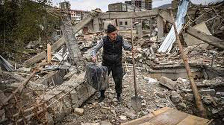 أرمينيا تتهم أذربيجان بخرق الهدنة
