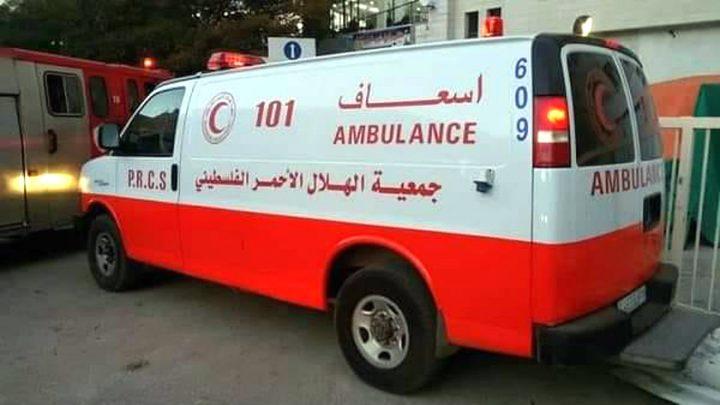 تسليم مركبة إسعاف لمستشفى الشهيد ثابت ثابت الحكومي