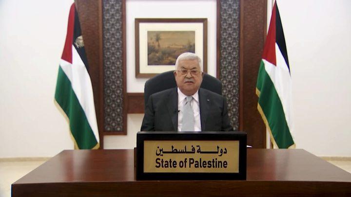 الرئيس عباس: شبابنا الثروة الحقيقية للوطن القادرة على التغيير