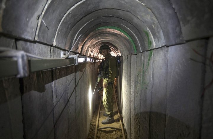 قوات الاحتلال تزعم اكتشاف نفق للمقاومة جنوب قطاع غزة