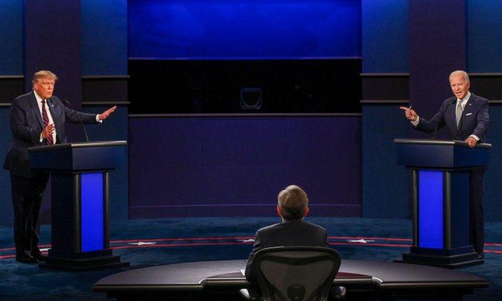 قرار بإغلاق مكبر الصوت بمناظرة ترامب وبايدن الأخيرة
