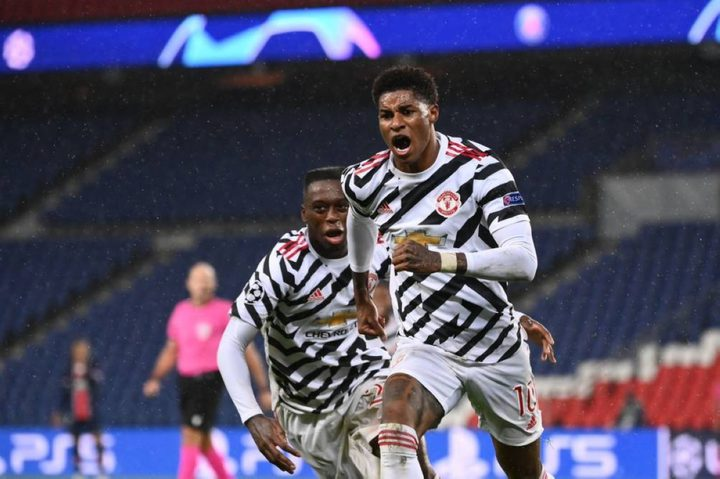 راشفورد يقود مانشستر يونايتد للفوز على باريس سان جيرمان