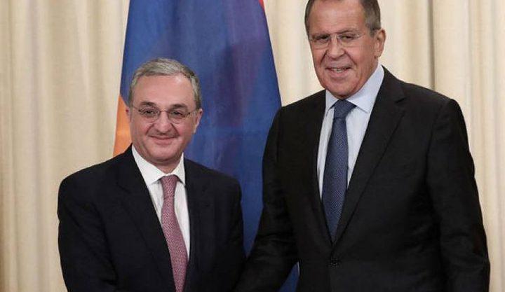 وزير خارجية أرمينيا يصل موسكو في زيارة قصيرة