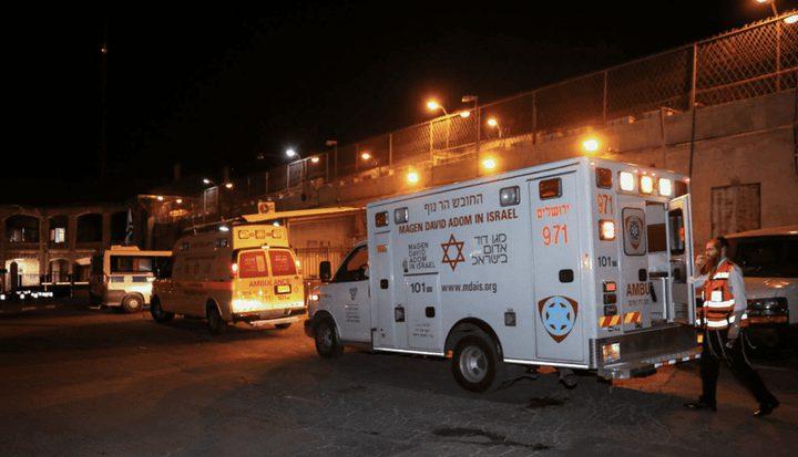 إصابة 5 أشخاص بجراح متفاوتة إثر انهيار سقالة