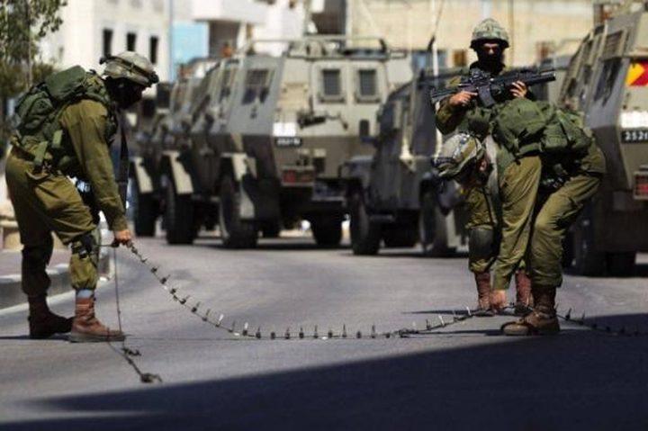 الاحتلال يغلق حاجز بيت أكسا العسكري