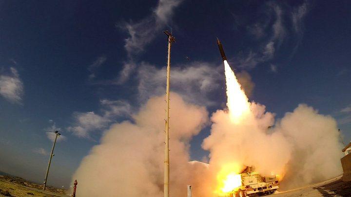الإحتلال يزعم اطلاق صاروخين من غزة صوب المستوطنات