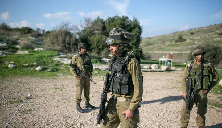 سلطات الاحتلال تقتحم خربة يرزا شرق طوباس