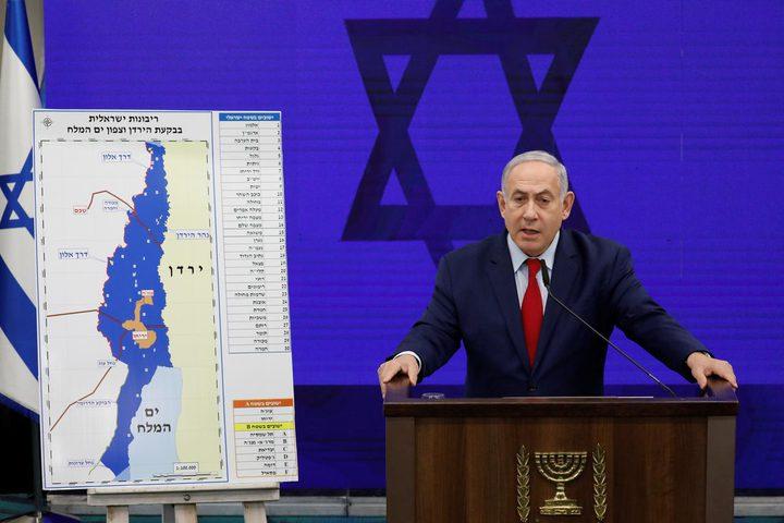 """""""عضو بالكنيست الإسرائيلي"""" يدعو الحكومة  لعدم التنازل عن ضم الضفة"""