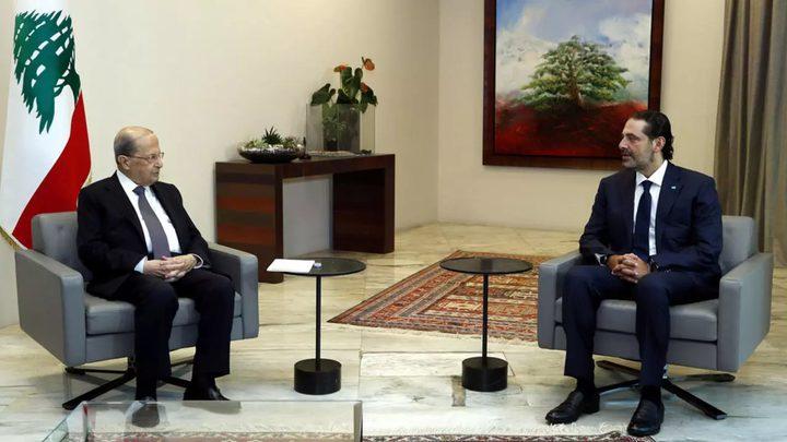 الرئيس اللبناني يكلف سعد الحريري بتشكيل الحكومة