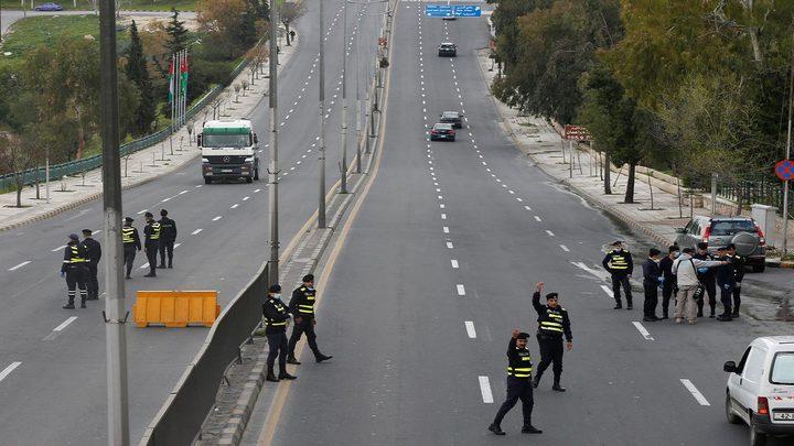 حظر التجول الشامل يدخل حيز التطبيق في الأردن