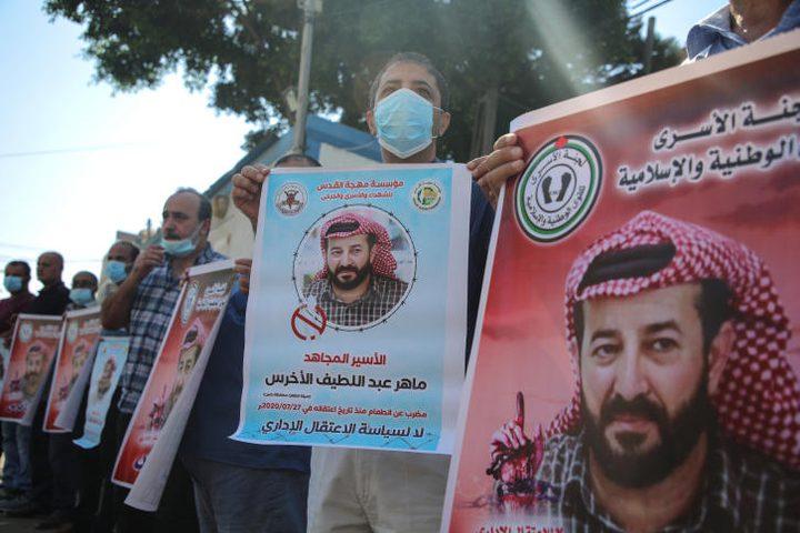 الاحتلال يلغي أمر تجميد الاعتقال الإداري للأسير ماهر الأخرس