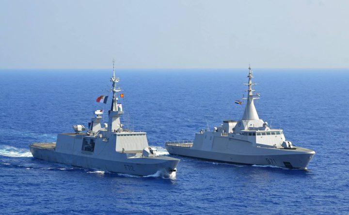 بحرية مصر تنقذ مركبا يرفع العلم التركي في عمق البحر المتوسط
