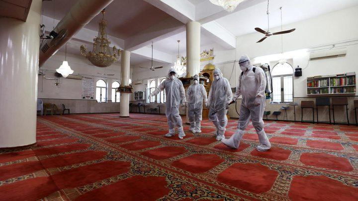 بسبب كورونا...إغلاق مسجد في خانيونس جنوب القطاع