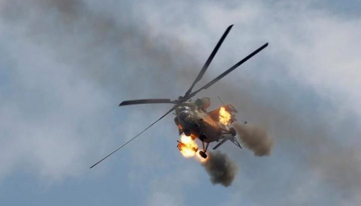تحطم طائرة تدريبة تابعة للبحرية الأمريكية