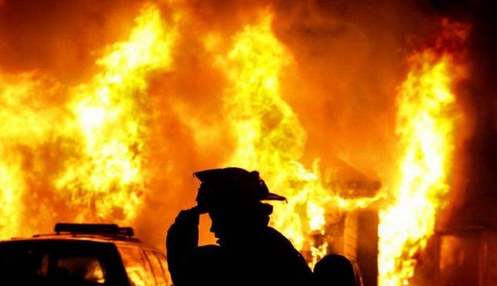 طمرة: إصابتان إحداهما خطيرة إثر حريق منزلي