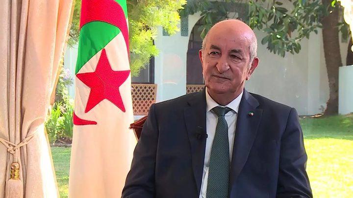 الرئيس الجزائري يدخل الحجر الصحي وفق توصيات طبية