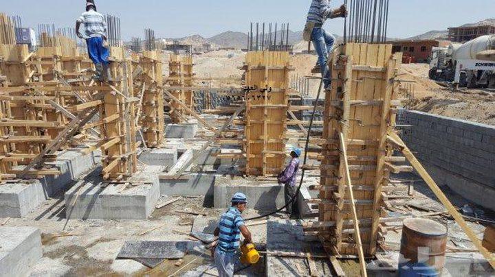 الإحصاء: ارتفاع مؤشر أسعار تكاليف البناء الشهر الماضي