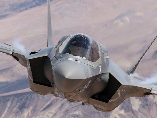 طائرة F35 الأمريكية لا تسمح بتجاوز المجال الجوي الروسي