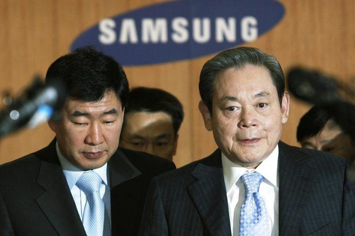 وفاة رئيس سامسونغ للإلكترونيّات عن 78 عاما