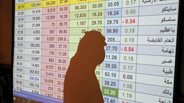 الأسهم السعودية تسجل أكبر هبوط يومي