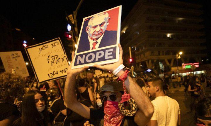 حكومة الاحتلال تبحث استعمال بيانات كورونا ضد معارضي نتنياهو