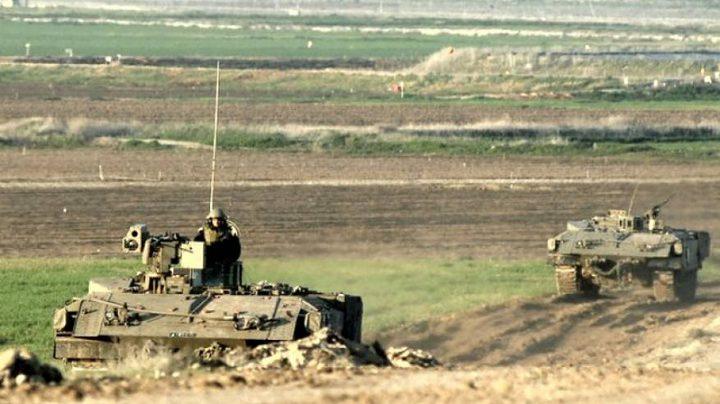 آليات الاحتلال تتوغل في أراضي المواطنين شرق خان يونس