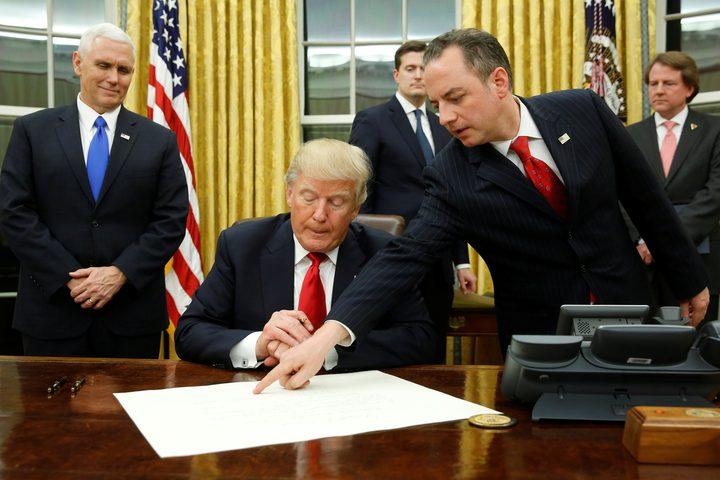 ترامب يكشف أن 10 دول التي تريد تطبيع علاقاتها مع الاحتلال