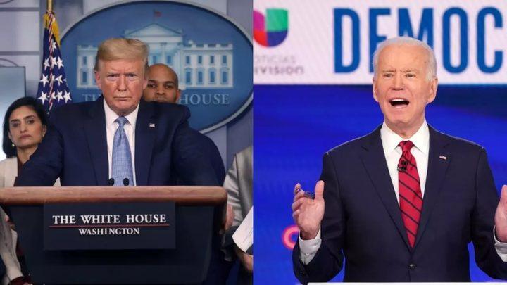 بايدن يتقدم على ترامب في ثلاثة ولايات