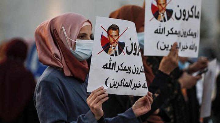هيئة علماء فلسطين في الخارج ترد على تصريحات الرئيس الفرنسي