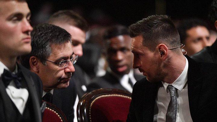 ميسي يغلق باب التنازلات أمام رئيس نادي برشلونة