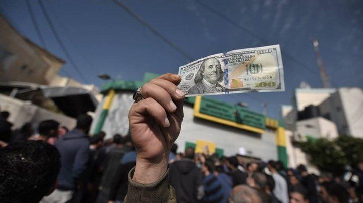 """""""معاريف"""" تزعم: قطر ستبدأ قريباً بنقل دفعتين من أموال المنحة لغزة"""