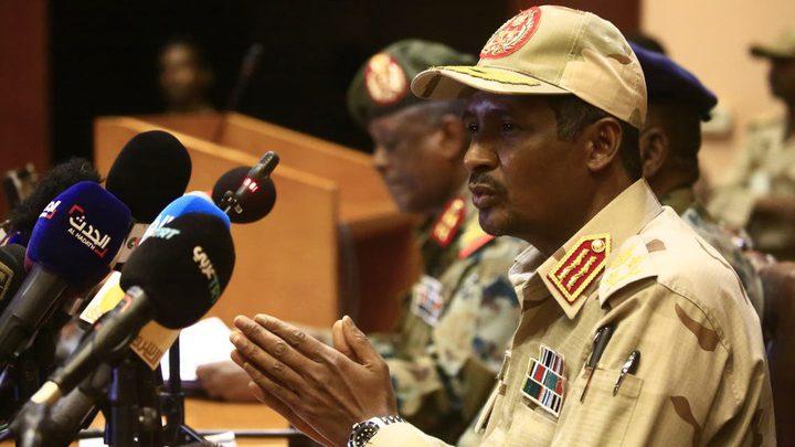 حميدتي يواصل خداع السودانيين..التطبيع قرار سوداني بدون ضغط أمريكي