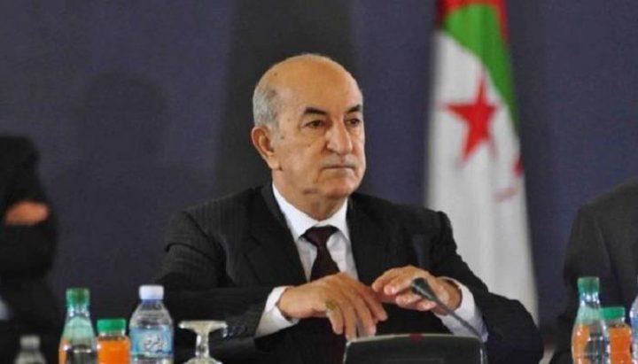 آخر تطورات الحالة الصحية للرئيس الجزائري عبد المجيد تبون