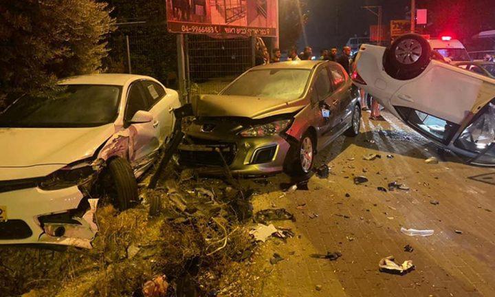 كفر ياسيف: إصابتان في حادث طرق