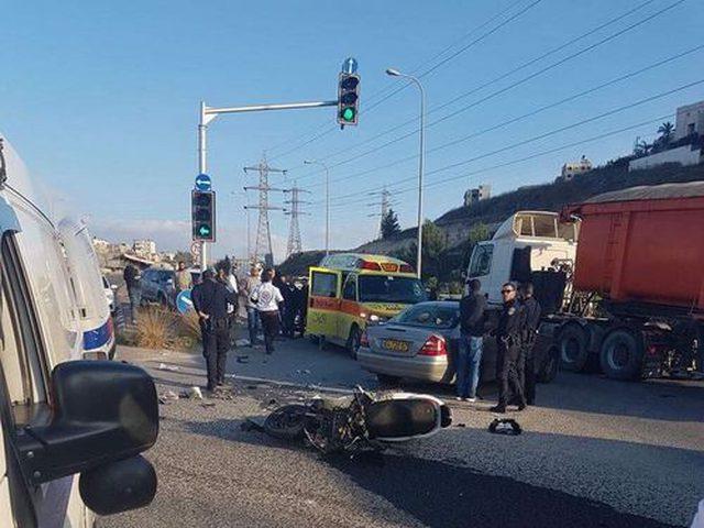 وفاة شاب من الناصرة متأثرا إصابته بحادث طرق