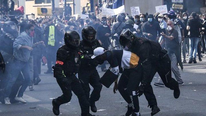 الشرطة الفرنسية تفرّق تظاهرة في مدينة ديجون