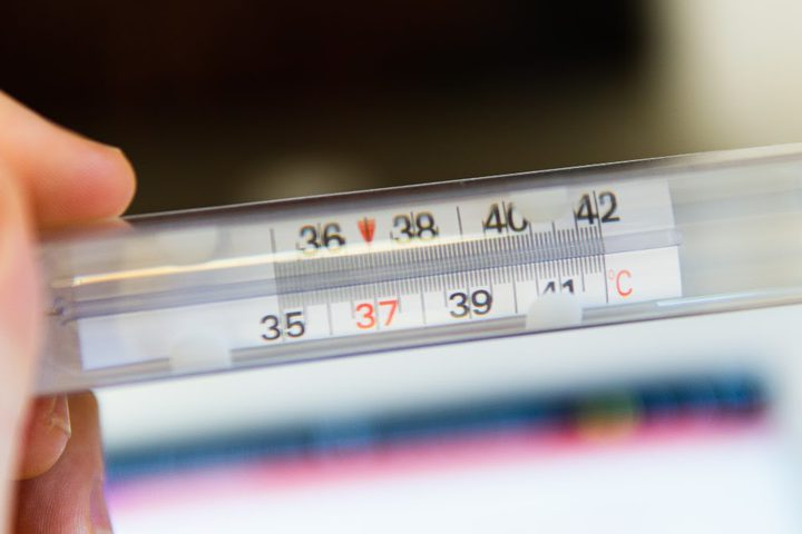 دراسة تؤكد إنخفاض متوسط درجة حرارة جسم الإنسان