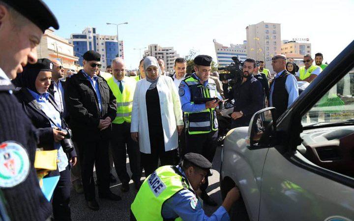 رام الله: انطلاق حملة الفحص الشتوي للمركبات
