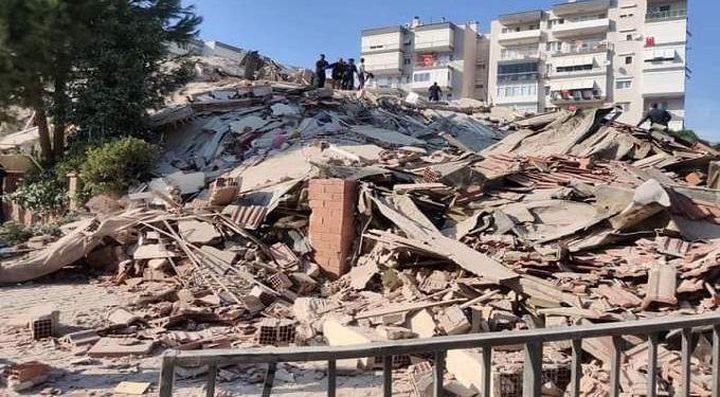 ارتفاع عدد ضحايا زلزال إزمير لـ 43