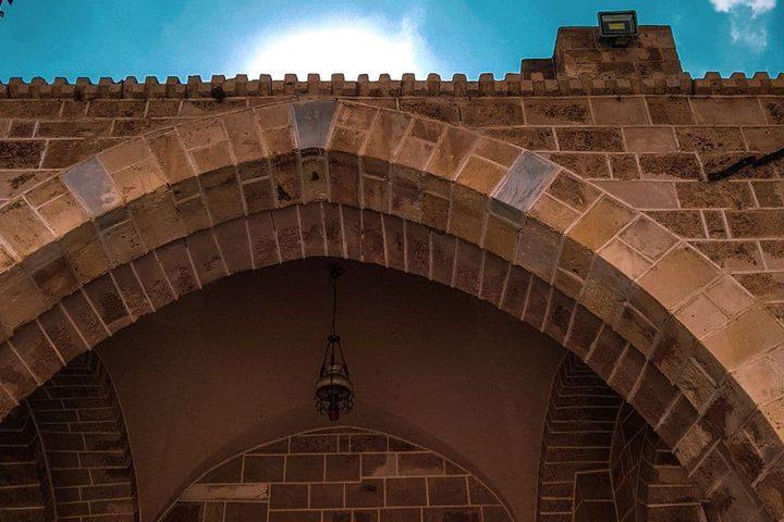 المسجد العمري الكبير شرقي مدينة غزة تصوير: أحمد ناهض المسارعي