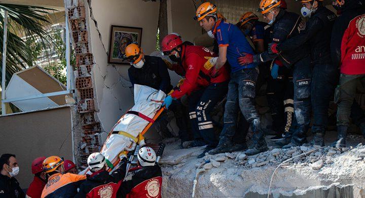إرتفاع عدد ضحايا الزلزال في تركيا يصل لـ 100