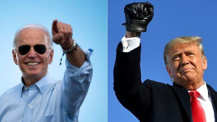 استطلاعات الرأي تظهر تقدم بايدن بالانتخابات الامريكية