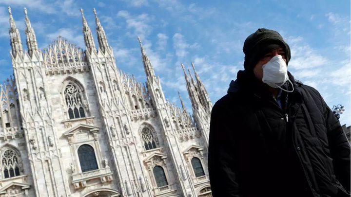 352 وفاة و30550 إصابة جديدة بفيروس كورونا في ايطاليا