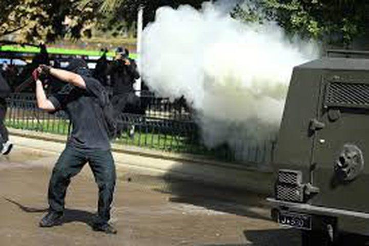 استقالة وزير داخلية تشيلي بسبب وحشية الشرطة