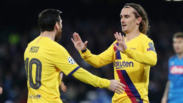 عودة برشلونة للتدريبات دون حضور ميسي و جريزمان قبل مباراة بيتيس
