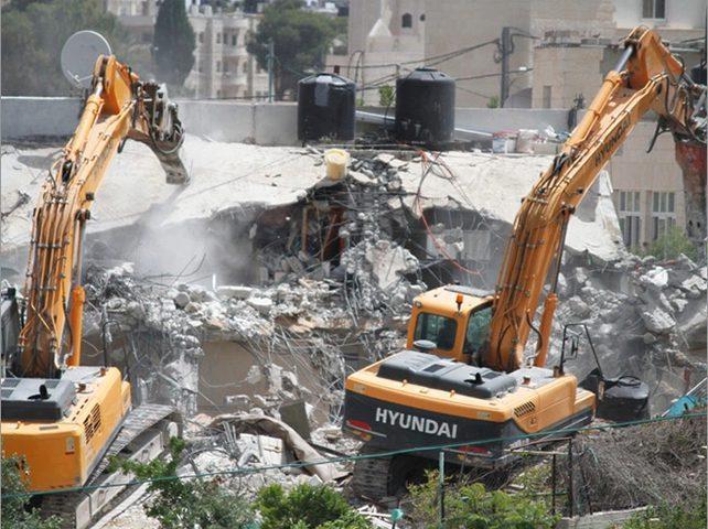 جبران: نتوقع زيادة في سياسة هدم المنازل الفلسطينية