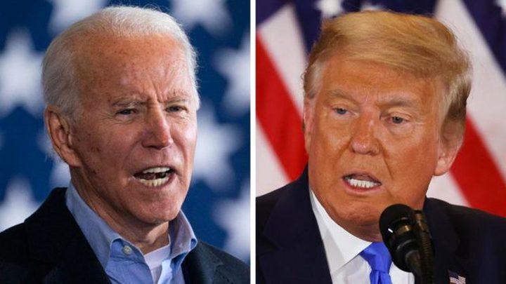 بايدن يلاحق ترامب في جورجيا واشتداد التنافس بينهما في بنسلفانيا